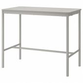 ТОММАРЮД Стол, светло-серый, 70x130/104 см